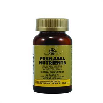 Solgar Prenatal Nutrients 60tabs
