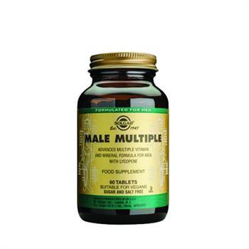 Solgar Male Multiple Πολυβιταμίνη 60tabs