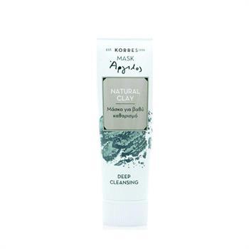 Korres Μάσκα με Άργιλο για Βαθύ Καθαρισμό 18ml