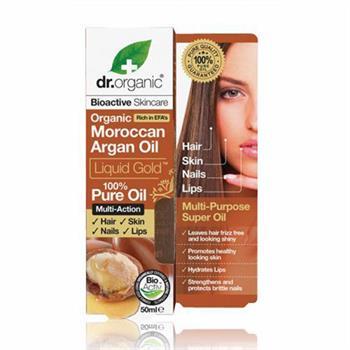 Dr. Organic Moroccan Argan Oil Hair Treatment Serum 100ml