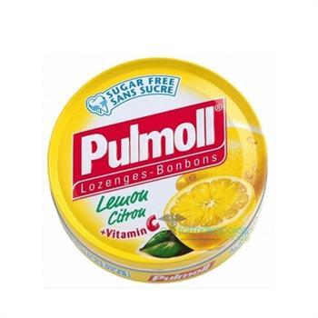 Pulmoll Καραμέλες με Lemon-Citron&Vit C 45gr