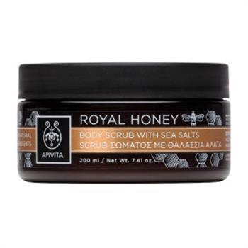 Apivita Royal Honey Body Scrub με Θαλάσσια Άλατα και Μέλι 200gr