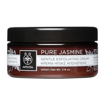 Apivita Pure Jasmine Κρέμα Ήπιας Απολέπισης 200ml