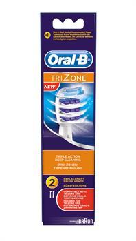 Oral-B Trizone 2 Ανταλλακτικές Κεφαλές Βουρτσίσματος