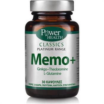 Power Health Classics Platinum Memo+ για την Μνήμη 30caps