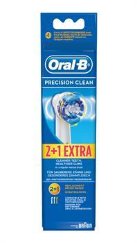 Oral-B Precision Clean 3 Ανταλλακτικές Κεφαλές Βουρτσίσματος