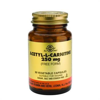 Solgar Acetyl L-Carnitine 250mg 30tabs