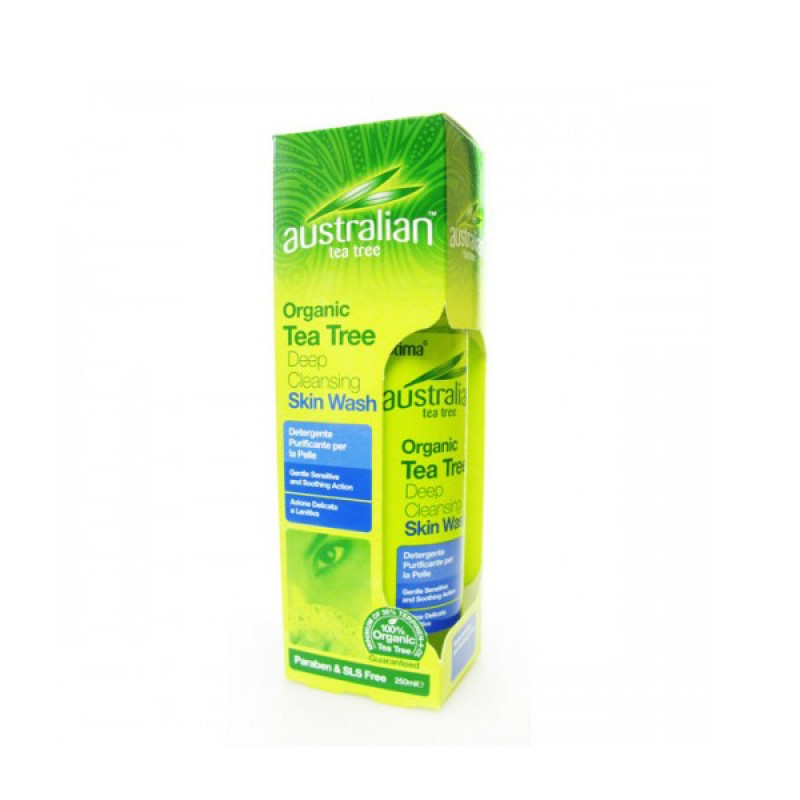 Optima Tea Tree Shower Gel 250ml