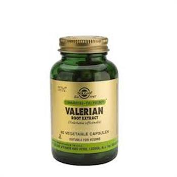 Solgar Standardised Valerian Root Extract 60caps