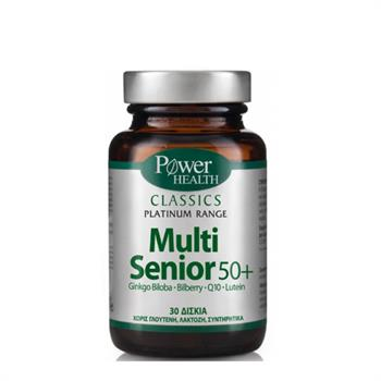 Power Health Classics Platinum Multi Senior 50+ 30tabs