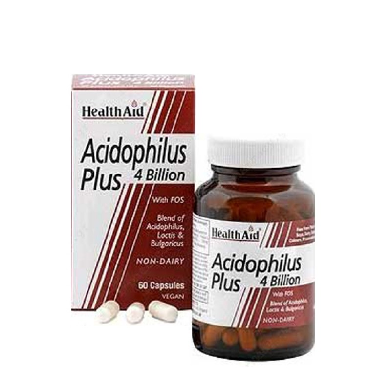 Health Aid Acidophilus Plus 4million 60caps