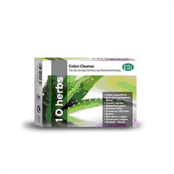 Esi 10 Herbs Colon Cleanse 30tabs