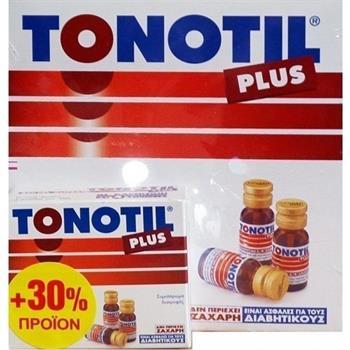Tonotil Plus 10 αμπούλες + 30% προϊόν (10+3) 10ml