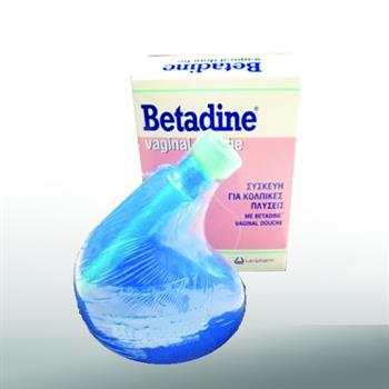 Betadine Vaginal Douche Συσκευή για Κολπικές Πλύσεις