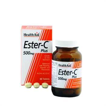 Health Aid Ester C Plus 500mg 60tabs