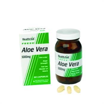 Health Aid Aloe Vera 5000mg 30caps