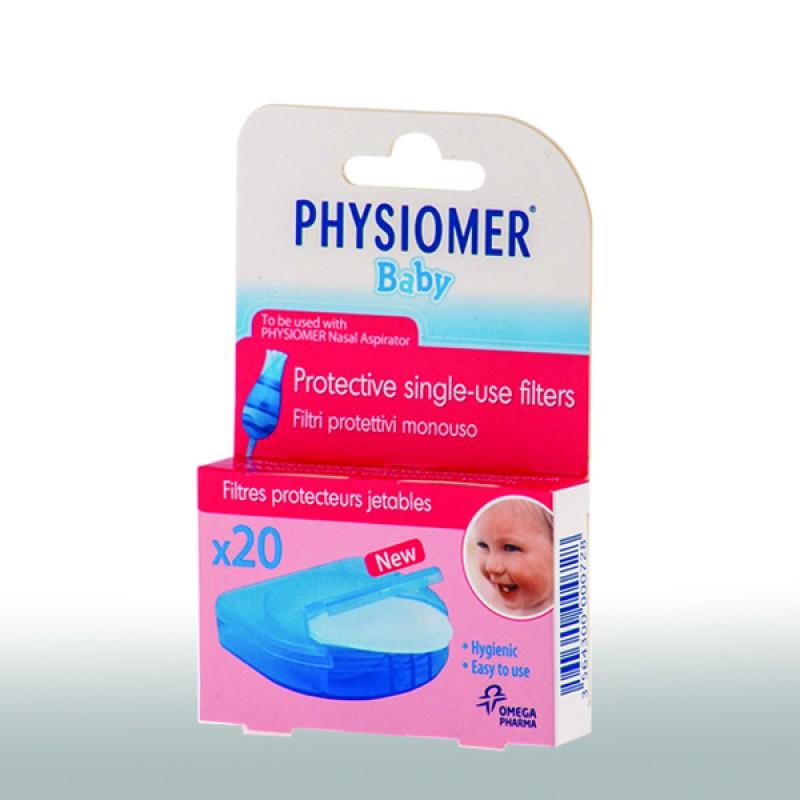 Physiomer Ανταλλακτικά Φίλτρα 20τμχ