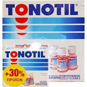 Tonotil με 4 Αμινοξέα 10 αμπούλες + 30% Προϊόν (10+3) 10ml