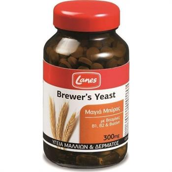 Lanes Brewers Yeast Mαγιά Μπύρας 300mg 400caps