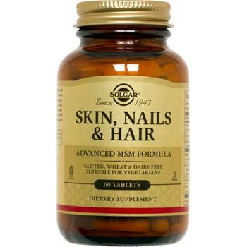 Solgar Skin Nails & Hair 60tabs