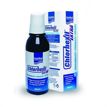 Chlorhexil Extra Mouthwash Στοματικό Διάλυμα 250ml