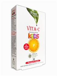 Power Health Vita- C Kids 100mg 30 μασώμενα δισκία