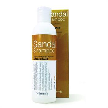 Evdermia Sandal Σαμπουάν για Λιπαρά Μαλλιά 250ml
