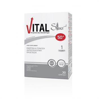 Vital Silver 50+ Plus Q10 30caps