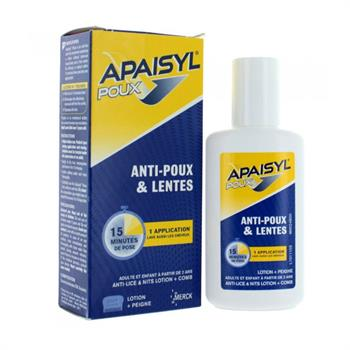 Poux Apaisyl Αγωγή κατά των Ψειρών και της Κόνιδας 100ml