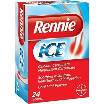 Rennie Ice 24 Μασώμενα Δισκία για την Δυσπεψία