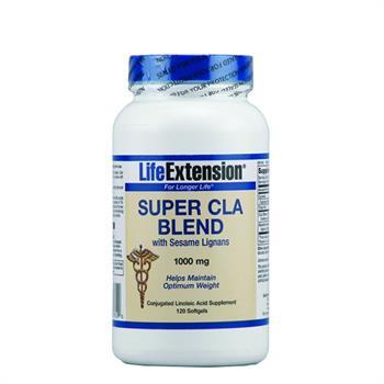 Life Extension Super CLA Blend With Sesame Lignans 1000mg 120Softgels