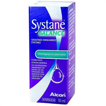 Systane Balance Λιπαντικές Οφθαλμικές Σταγόνες 10ml