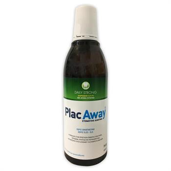 Plac Away Daily Care Strong Στοματικό Διάλυμα 500ml