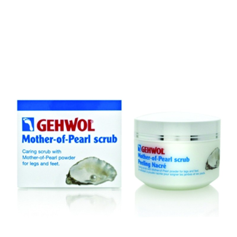 Gehwol Mother Of Pearl Scrub Απολεπιστική Πάστα για Γάμπες & Πέλματα 150ml