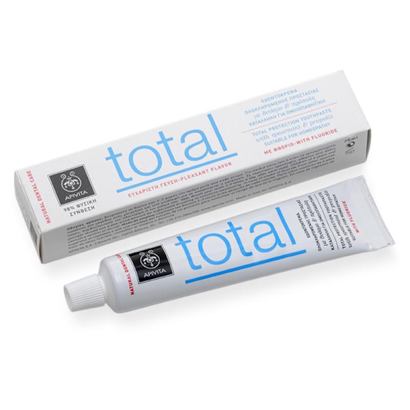 Apivita Total Οδοντόπαστα με Πρόπολη & Δυόσμο 75ml