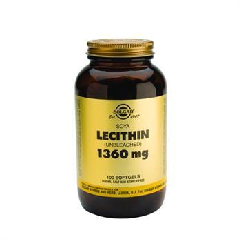 Solgar Lecithin 1360mg 100Softgels