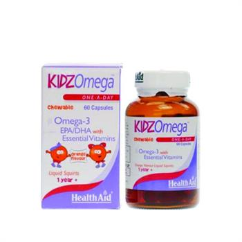 Health Aid KidzOmega 60 μασώμενα δισκία