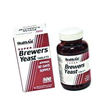 Health Aid Super Brewers Yeast 300mg 500Tabs