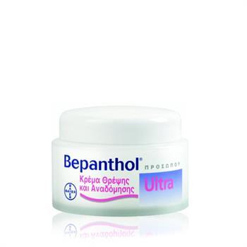 Bepanthol Ultra Κρέμα Προσώπου Θρέψης & Αναδόμησης 50ml