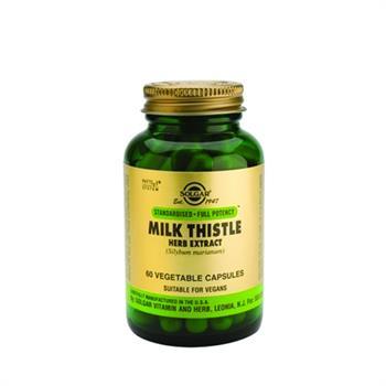 Solgar Milk Thistle Herb Extract 60caps