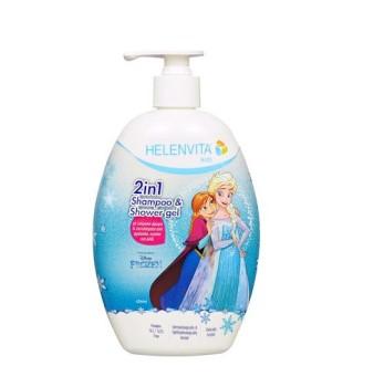 Helenvita Kids Frozen 2 in 1 Shampoo & Shower Gel 500ml