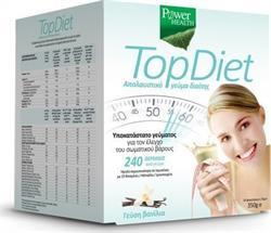 Power Health Top Diet 350gr Βανίλια