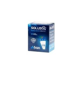 Frondis Solus V2 - Ταινίες Μέτρησης Σακχάρου - 50τμχ