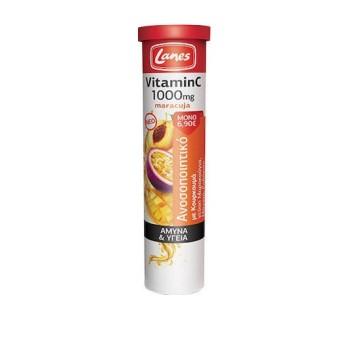 Lanes Vitamin C 1000mg Maracuja 20 αναβράζοντα δισκία