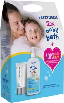Frezyderm Baby Bath Απαλό Παιδικό Αφρόλουτρο 300ml X2 PROMO
