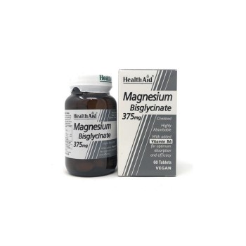 Health aid Magnesium Bisglycinate 375 mg
