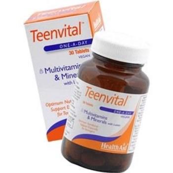 Health Aid Teenvital Πολυβιταμίνες για Εφήβους 30Tabs