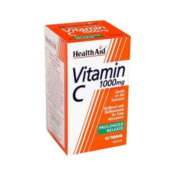 Health Aid Vitamin C 1000mg with Bioflavonoids prolonged release 60 Ταμπλέτες