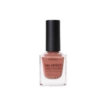 Korres Gel Effect Nail Colour No.40 Winter Nude Βερνίκι Νυχιών, 11ml