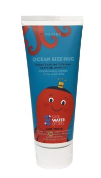 Korres Ocean Size Hug Safe Water Sports Παιδικό Ενυδατικό Γαλάκτωμα για όλη την Οικογένεια, 200ml
